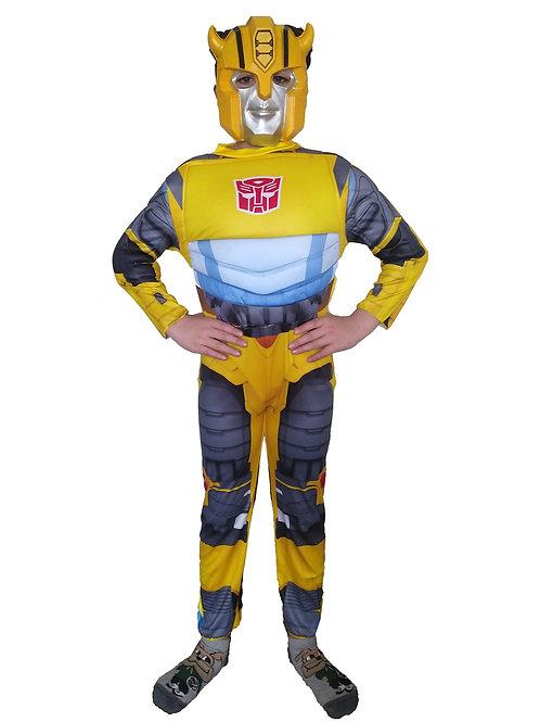 Disfraz Transformers Bumblebee con Musculos 2021