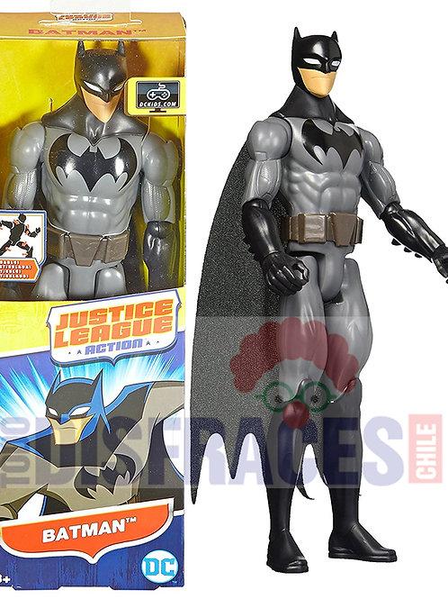 Batman Gris 30cm Liga De La Justicia Original Mattel