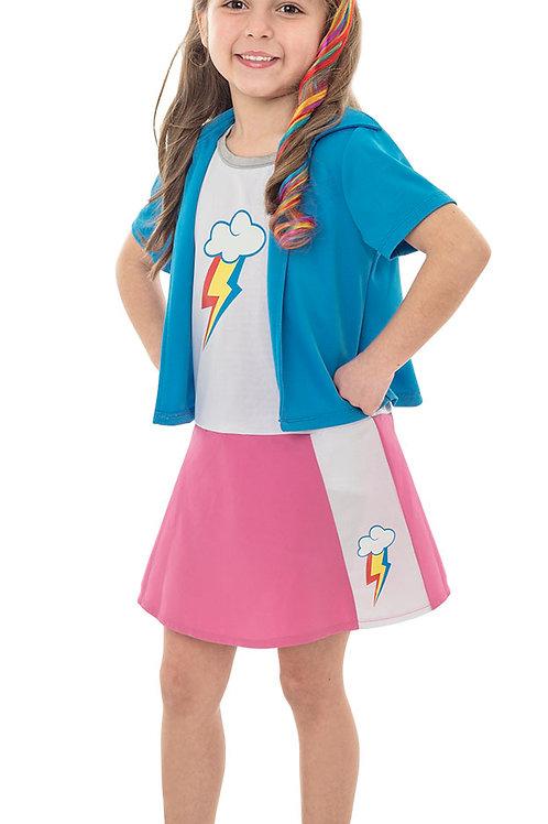 Disfraz My Little Pony Raimbow Dash Original
