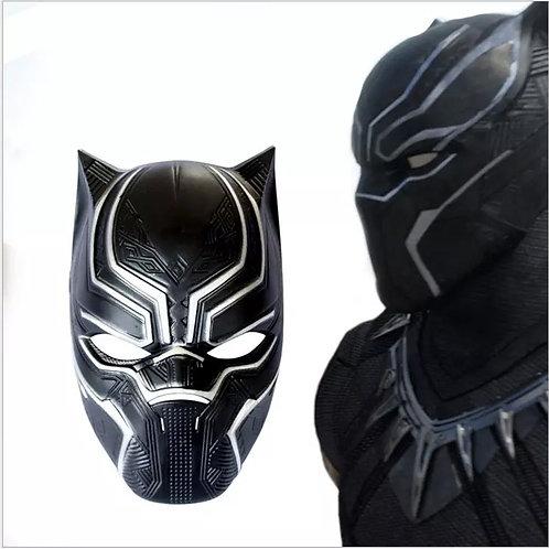 Mascara Pantera Negra Black Panther Super Resistente