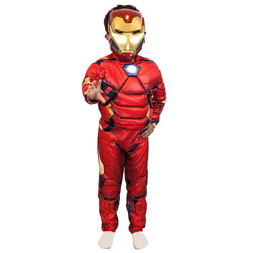 Disfraz Iron Man con Musculos Original Marvell