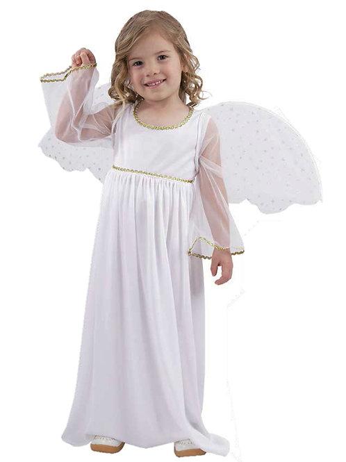 Disfraz Angel Con Alas Excelente Calidad