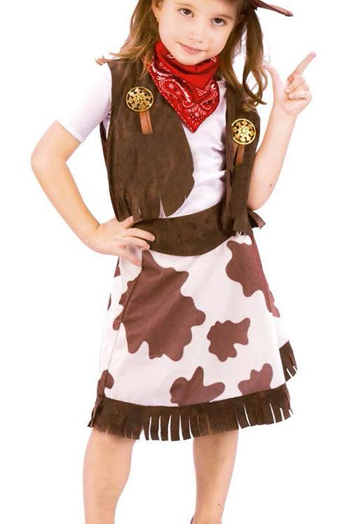 Disfraz Vaquera Excelente Calidad