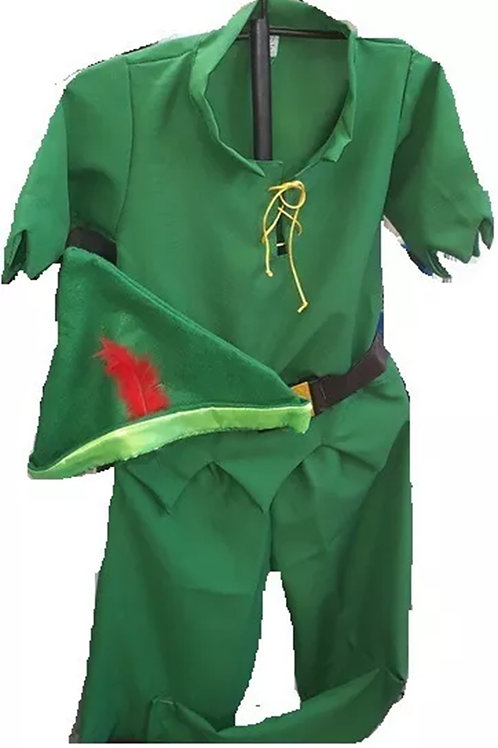 Disfraz Peter Pan con cubrebotas