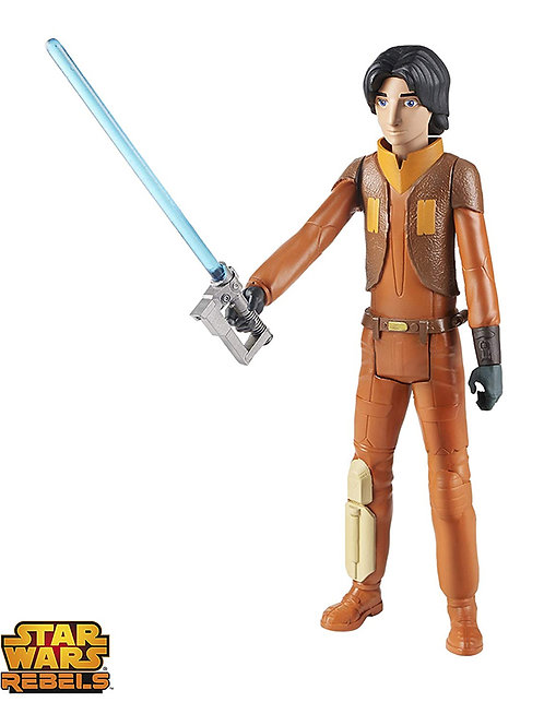 Figura Starwars Ezra Bridger Original 25cm Con Sable