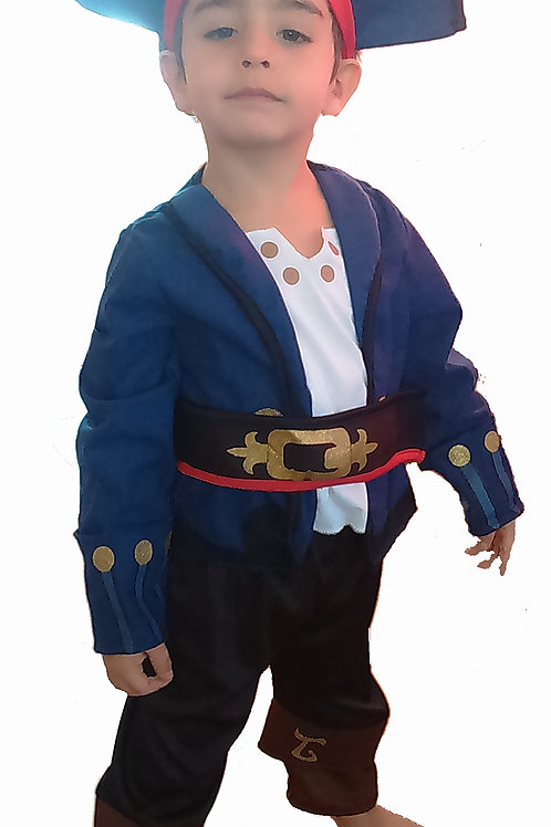 Disfraz Capitan Jake Deluxe Original Disney