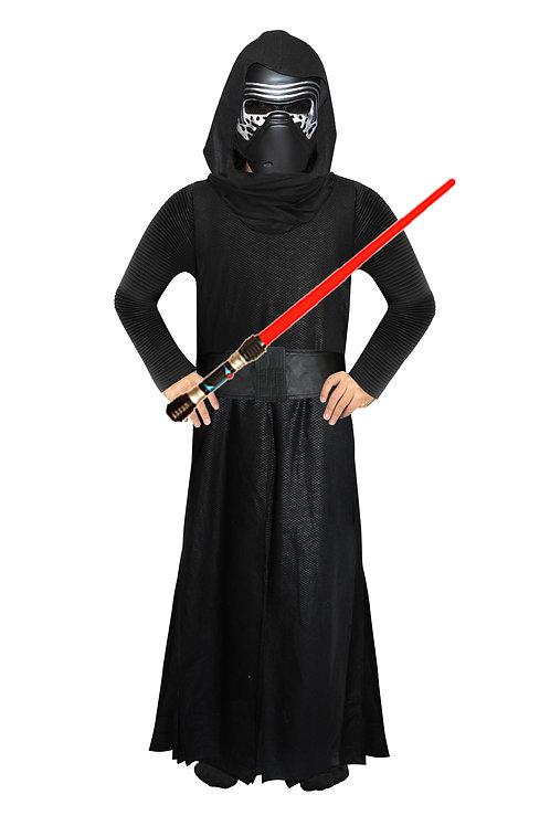 Disfraz Kylo Ren Original Disney con espada Luz y Sonido