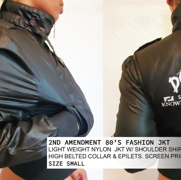 2ND AMENDMENT 80'S FASHION JKT