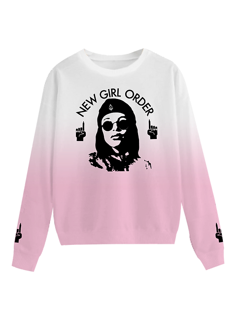 NEW GIRL ORDER Che Dip Dye Sweatshirt