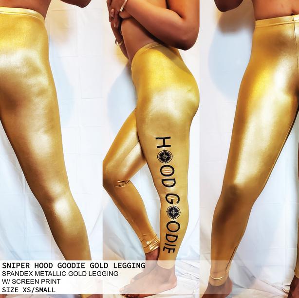 SNIPER HOOD GOODIE GOLD LEGGING
