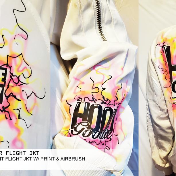 AIRBRUSH SUMMER FLIGHT JACKET