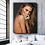 Wall art of beautiful sensual nude woman