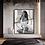 Sensual figurative woman bedroom wall art