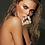 Beautiful sensual nude woman portrait