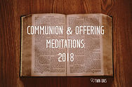 Communion and Offering Mediations