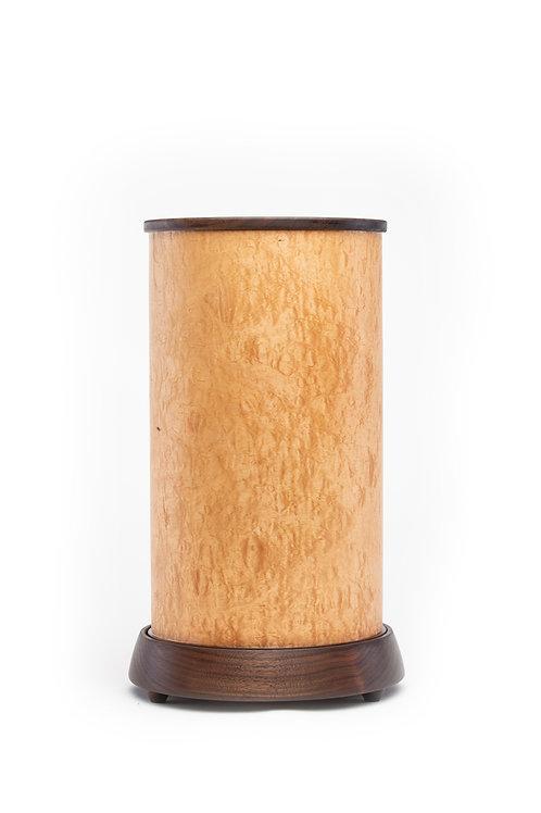 Maple w/ Walnut Base Table Lamp