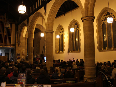 ORDERED UNIVERSE LAUNCH AT ST. PETER'S CHURCH, SUNDERLAND