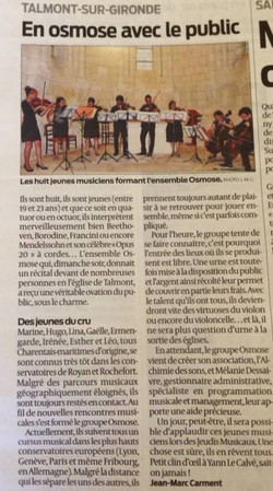 Sud-Ouest 07/13