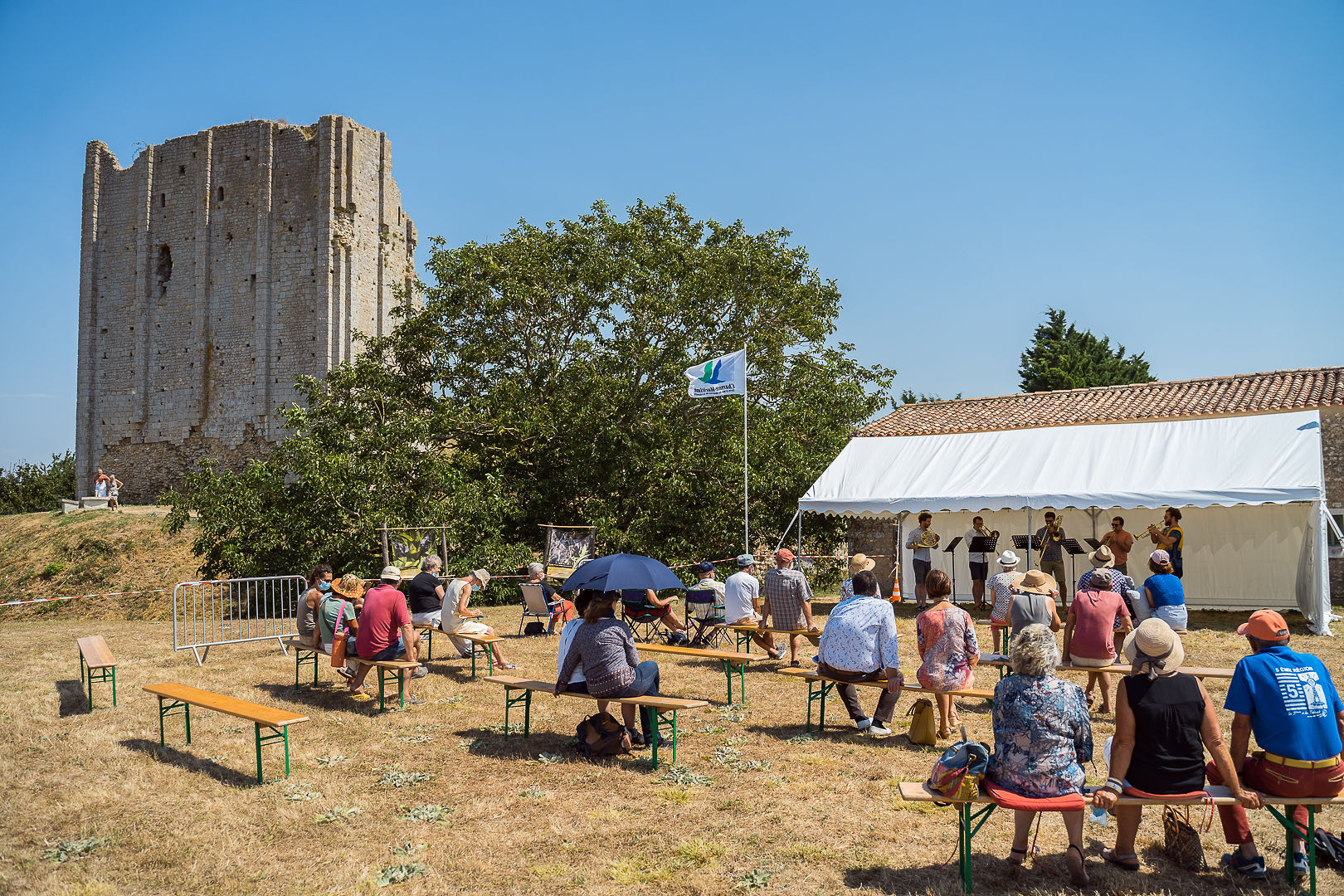 Tour de Broue de Saint-Sornin - 08/08/2020