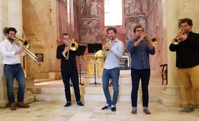 Le Quintette de Cuivres - Saint-Sornin - 17/08/19