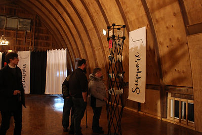 Art event at the barn