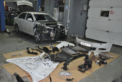 Кузовной ремонт | Авто Леон Арт | Марьино