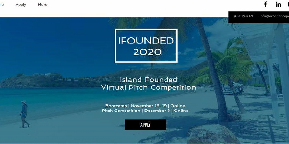 iFounded 2020 - Virtual Bootcamp & Pitch Competition