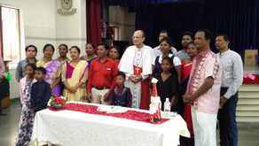 Cardinal Oswald hosts a Christmas Party for SVP Sponsored Families