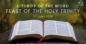 Liturgy of the Word - Holy Trinity Sunday