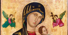 Allowing the Icon of our Mother of Perpetual Succour to speak to us