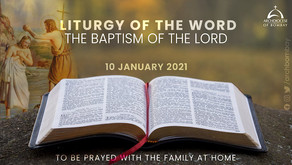 Liturgy of the Word - January 10 - Baptism of the Lord