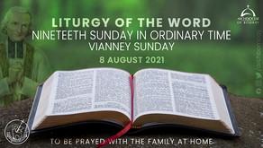 Liturgy - August 8, 2021 - Vianney Sunday