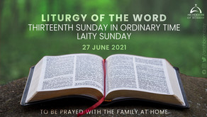 Liturgy of the Word - June 27, 2021 - Laity Sunday