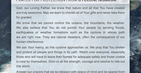 Prayer for Protection from Cyclone Nisarga