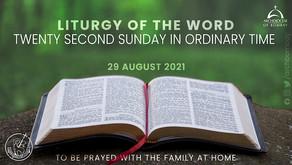 Liturgy - August 29, 2021