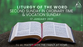 Liturgy of the Word - January 17, 2021 - Vocation Sunday
