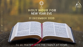Holy Hour - New Year's Eve - December 31