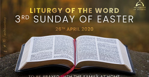 Liturgy of the Word - 3rd Sunday of Easter