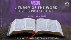 Liturgy of the Word - February 21 - First Sunday of Lent