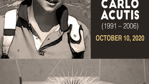 Beatification of Carlo Acutis- October 10, 2020