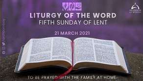 Liturgy of the Word - March 21, 2021