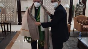 His Excellency Archbishop Leopoldo Girelli, Apostolic Nuncio to India and Nepal