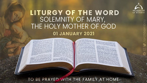 Liturgy - Mary, Mother of God - January 1, 2021