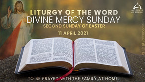 Liturgy - Divine Mercy Sunday - April 11, 2021