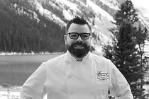 Chef Fortin, Executive Chef at Fairmont Chateau Lake Louise