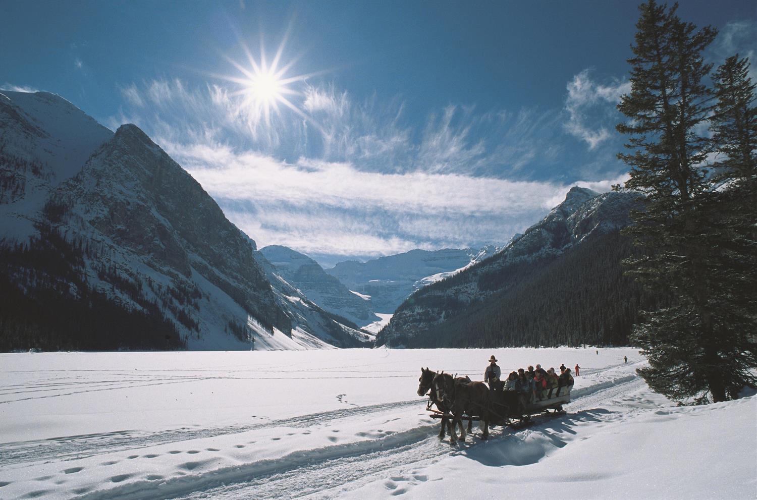 Sleigh Ride Winter Family Activity