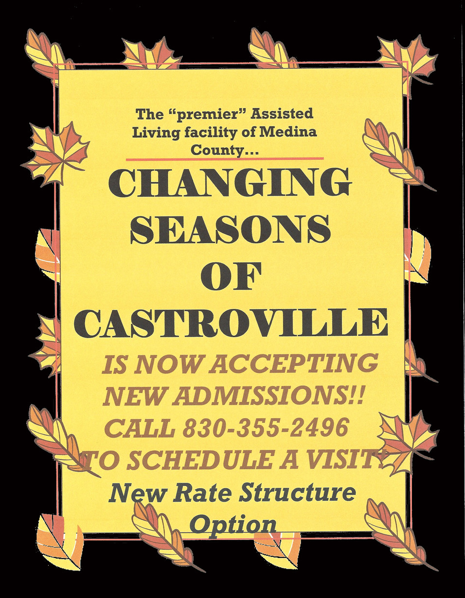 Changing Seasons of Castroville.