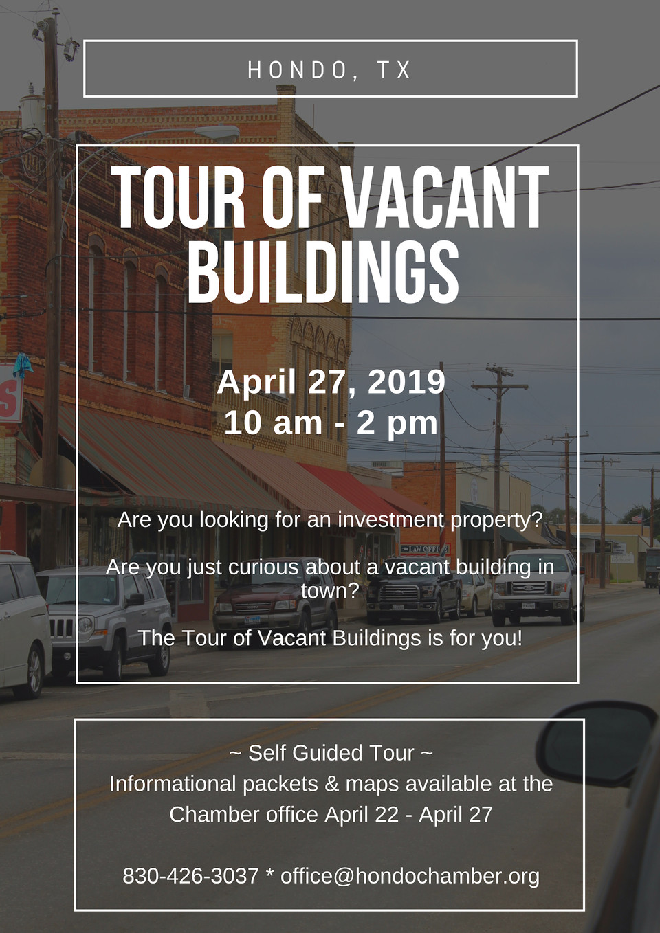 Get ready for the Tour of Vacant Buildings and the Heritage Festival!