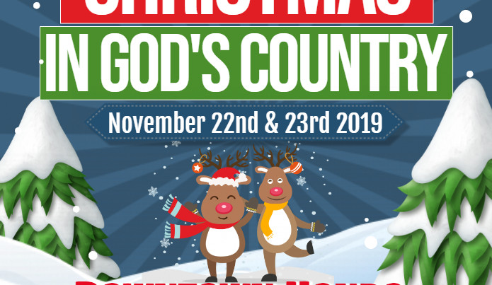 Christmas in God's Country is Almost Here!