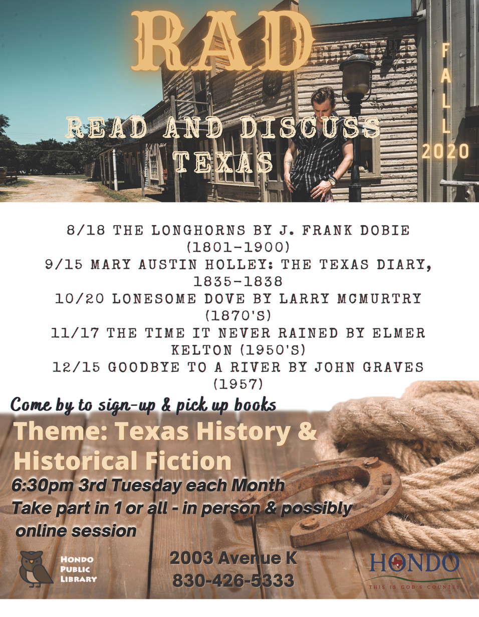 Read and Discuss Texas